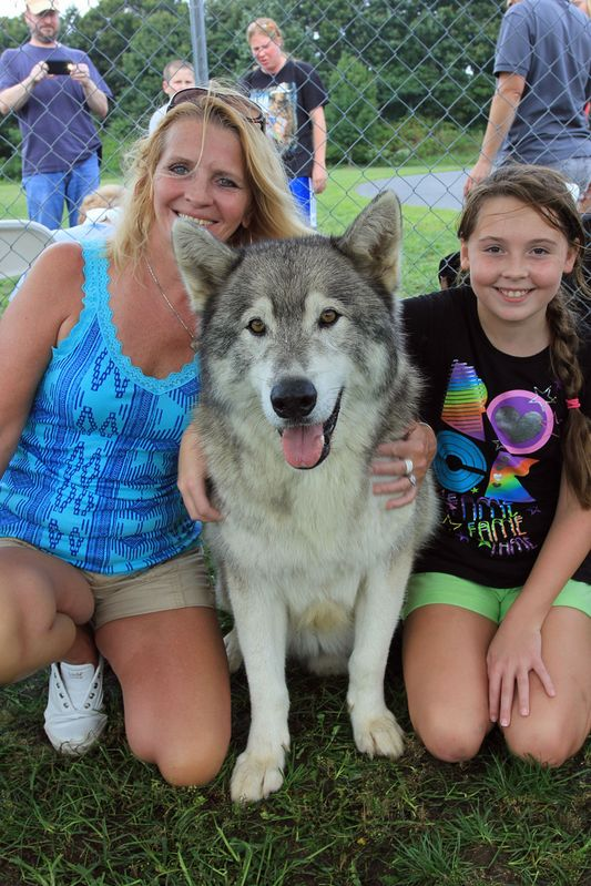 Woofstock, Voorhees, NJ Sept 2012....Bandit & Visitors